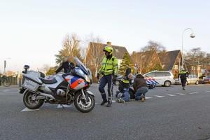 Hoofddorp: Scooterrijder aangereden